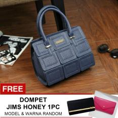 Ulasan Tentang Jims Honey Special Luxury Packages Michelle Kelley Bag Navy Free Wallet 1Pc