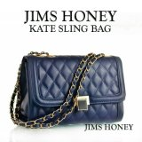 Toko Jims Honey Tas Import Best Seller Kate Sling Bag Navy Terdekat