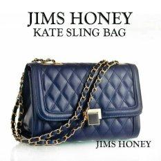 Diskon Besarjims Honey Tas Import Best Seller Kate Sling Bag Navy