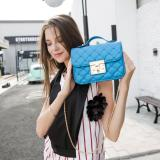 Diskon Besarjims Honey Top Sling Bag Mary Bag Blue Electric