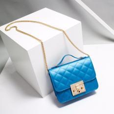 Beli Jims Honey Tote Bag Wanita Terbaru Avril Bag Blue Secara Angsuran
