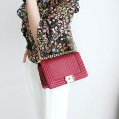 Jual Jims Honey Woman Fashion Bag Import Baby Bag Red Jawa Barat Murah