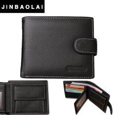 Toko Jinbaolai Dompet Kulit Pria Soft Leather Wallet Terlengkap