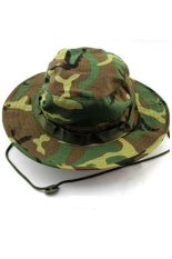 Jingle Militer Boonie Topi (Woldland Camo)-Intl