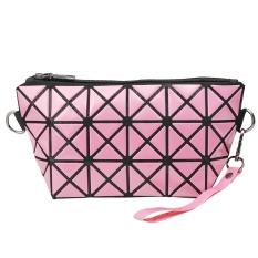 Beli Jingle Wanita Dipoles Kisi Geometris Dilipat Kopling Pink Intl Lengkap