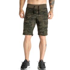 Jirouxiongdi celana pendek olahraga Trend Musim Panas pria Luar rumah Berlari fitness pelatihan longgar bernapas celana setengah paha jongkok celana pendek
