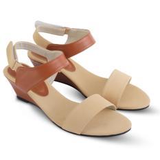 Situs Review Jk Collection Sandal Wedges Wanita 1224 Coklat