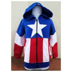 Jkkdl6 Jaket Anak Laki Captain America Logo Promo Beli 1 Gratis 1
