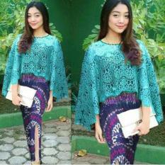 Jn - Baju Murah/Cape Brokat/Batik Wanita/Kebaya Modern/Baju Wanita/Batik/Kutu Baru/Baju Batik/ Murah; Motif dan Warna real photo #Ukuran S, M, L dan XL