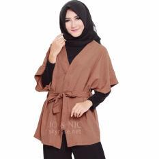 Harga Jo Nic Thalia Kimono Kardigan Wanita Fit To Big Size Fjn413 Brown Di Indonesia