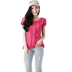 Harga Jo Nic Abbey Tulip Sleeve Blouse Atasan Wanita Allsize Pink Jo Nic Indonesia