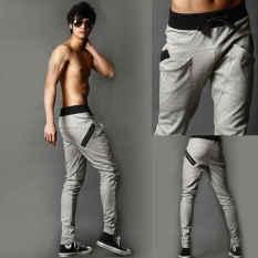Toko Jo In Pria Keren Celana Harem Celana Skinny Berkaki Lurus Pas Sports Pants Keringat Kelabu International Terlengkap Tiongkok