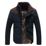 Toko Jo Dalam Laki Laki Hangat Musim Dingin Termal Jaket Empuk Cotton Padded Jacket Musim Dingin Ramping Dilengkapi Menebal Mantel Biru Terlengkap Tiongkok