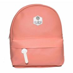Jobay promo Ransel Fashion,backpack,korea styel-Merah muda