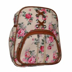 Jobay promo Ransel Fashion,backpack,Ransel Rose 01 -Cream