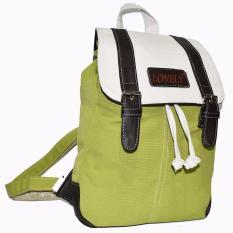 Diskon Jobay Promo Tas Ransel Fashion Backpack Tas Gemblok Lovely01 Hijau