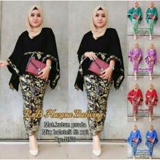 Jofin - Batik Wanita/Kebaya/Kebaya Modern/Baju Wanita/Batik/Kutu Baru/Baju Batik/Murah, Motif. Warna sesuai photo asli #real photo #Ukuran M.L dan XL