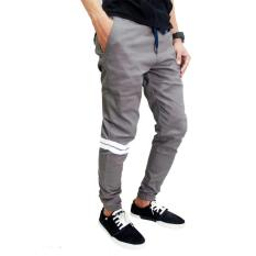Top 10 Joger Chino With Strips Abu Abu Online