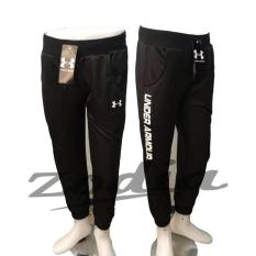 Joger Pants Panjang - Under Armour - Hitam - Celana Olahraga/Training - Hot Items