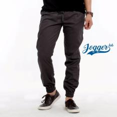 Jogger Lab Jogger Basic Dark Grey Indonesia Diskon