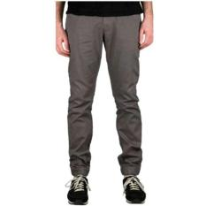 Jogger Pants Best Seller - Abu-abu Tua