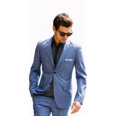 John Varatos - Jas Formal Pria Blue Ocean [Biru]  Jas Formal  Jas Kerja  Jas Kantor  Jas High Quali