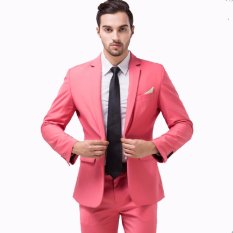 Iklan John Varatos Jas Pria Formal Pesta Style Merah Muda Jas Formal Jas Pesta Jas Prewedding Jas New Arrival Jas Best Quality