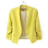 Harga Jo Dalam Baru Ol Wanita Gaya Permen Tipis Warna Setelan Pakaian 3 4 Lengan Baju Kasual Jaket Jas Mini 5 Warnd Termurah