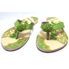 Joker Sandal Jepit Batik Khas Jogja Model A1 - Hijau