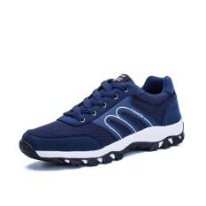 Jual Cepat Jollychic Untuk Pria Dengan Ventilasi Udara Ringan Mesh Pola Sepatu Lari Intl