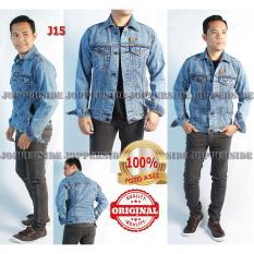 Beli Jopperside Jaket Jacket Jeans Denim Asli Original Distro Pria Premium Slimfit Abu Biru Muda J15 Online