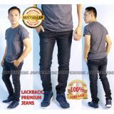 Jual Jopperside Lackback Side Ways Pocket Celana Jeans Denim Premium Pria Hitam Un Branded Original
