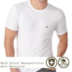 Beli Jordan Cavalli Kaos Dalam Anti Bakteria Crew Neck Putih 2 Pcs Yang Bagus