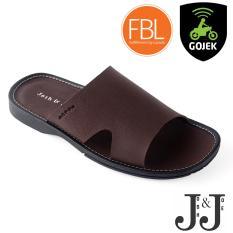 Josh&Joe / fashion pria / sandal murah / sandal pria / sandal pria kulit / sandal pria casual / sandal pria dewasa / sandal gunung pria/ sandal jepit pria MaxBrown