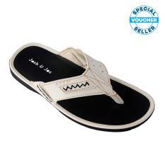 Josh&Joe / fashion pria / sandal murah / sandal pria / sandal pria kulit / sandal pria casual / sandal pria dewasa / sandal gunung pria/ sandal jepit pria Putih01