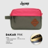 Review Journey Pouch Hand Bag Tas Gadget Tas Kosmetik Journey Dakar Pink