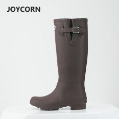 Joy Gaya Barat Perempuan Dewasa Karet Sepatu Boots Hujan Sepatu Boots Hujan (PARK'S warna jc-023)