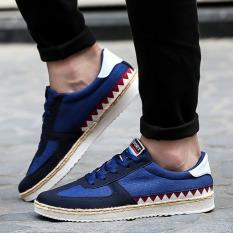 Spesifikasi Joy Fashion Kanvas Pria Sepatu Biru Merk Urban Preview