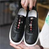 Jual Joy Fashion Sneakers Sepatu Berwarna Hitam Termurah
