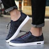 Beli Joy Fashion Sneakers Sepatu Berwarna Biru Pake Kartu Kredit