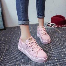 Jual Joy Korea Mode Korea Topi Versi Korea Renda Kasual Pria Sneakers Pink Intl Termurah