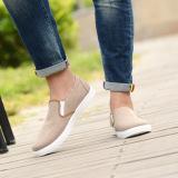 Joy Pria Casual Canvas Flat Sepatu Untuk Membantu Rendah Khaki Urban Preview Diskon 40