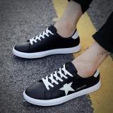 Promo Joy Pria Putih Sepatu Bernapas Fashion Movement Leisure Sepatu Hitam Urban Preview Terbaru