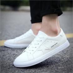 Ulasan Mengenai Joy Pria Putih Sepatu Bernapas Fashion Movement Leisure Sepatu Putih