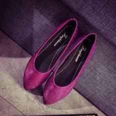 Toko Joy Shallow Runcing Dengan Mulut Datar Orang Malas Mengemudi Sepatu Merah Intl Termurah