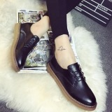 Spesifikasi Joy Women S Round Head Casual Sepatu Hitam Terbaru