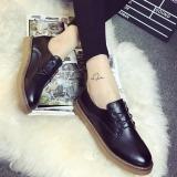 Toko Joy Women S Round Head Casual Sepatu Hitam Online Terpercaya