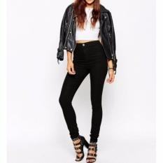 Jr Celana Jeans Wanita Hw Premium Harga Murah Hitam Di Dki Jakarta
