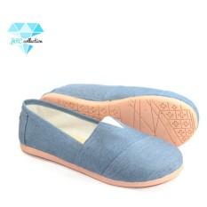 Toko Jrc Sepatu Flatshoes Slip On Model Toms Wakai Sepatu Wanita Pria Termurah