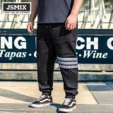 Toko Jsmix Plus Ukuran 36 48 Ukuran Besar Besar Elastis Ankle Length Jeans Kasual Intl Terdekat